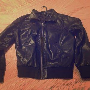 Torrid Bomber Faux Leather Jacket